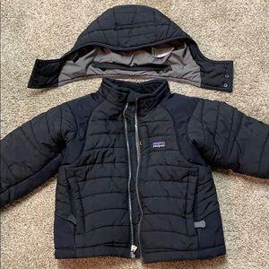 Patagonia kids XXS 3-4 Hooded winter puffer